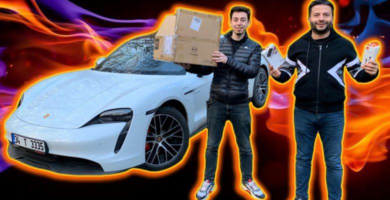 Porsche ile üstünden geçtik – Mcdodo kutu açılışı