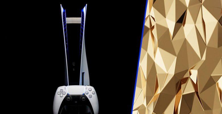 20 KG altın ile üretilen PlayStation 5 yolda