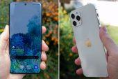 Galaxy S21 Plus ve iPhone 12 Pro Max karşı karşıya!