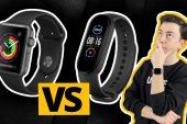 Hangisini almalıyız? Apple Watch 3 vs Mi Band 5