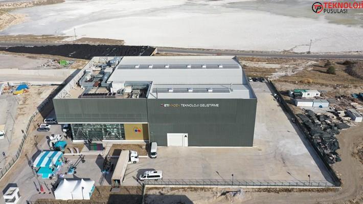 Türkiye'nin birinci lityum üretim tesisi açıldı